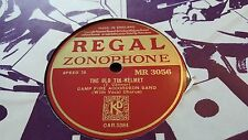 CAMP FIRE ACCORDEON BAND THE OLD TIN HELMET & WINGS OVER REGAL ZONOPHONE MR3056