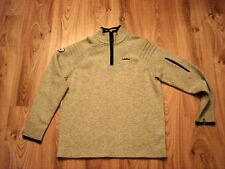 New Pullover Wed'ze Midwool Racing, Gray, Wool Blend, XL