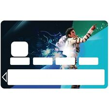 Stickers Autocollants Skin Carte de Crédit CB Michael Jackson 1072 1072