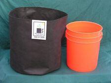 """24""""x18"""" Air & Water permeable, reusable fabric grow pots 10 pk."""