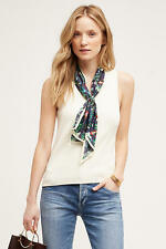 Anthropologie Scarf Tank by Moth XXS