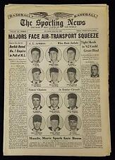 7/26/1961 The Sporting News w/Umpires Barlick Chylak Runge Flaherty+ On Cover