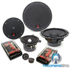 "FOCAL 165 A3 6.5"" + 4"" 3-WAY ACCESS COMPONENT SPEAKERS MIDS TWEETERS CROSSOVERS"