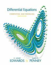Differential Equations Computing and Modeling (4th Edition)-ExLibrary