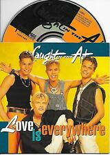 CAUGHT IN THE ACT - Love is everywhere CD SINGLE 2TR DUTCH CARDSLEEVE 1994 RARE!