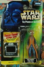 1997 Star Wars Power of the Force Saelt-Marae (Yak-Face) with Battle Staff