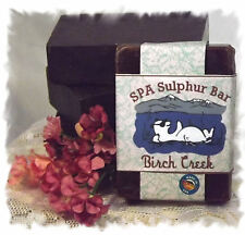Vanilla Bean Noel _ Birch Creek SPA Sulphur Mineral Soap Made in Montana