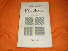 anna e alberto oliverio psicologia zanichelli 2a edizione 1984