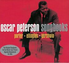 OSCAR PETERSON SONGBOOKS - PORTER ~ ELLINGTON ~ GERSHWIN (NEW SEALED 3CD)