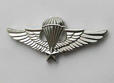 VIETNAM PARA BASIC JUMP WINGS PARATROOPER LAPEL PIN BADGE 2.5 INCHES
