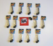 12 NEW BANG GUN PISTOLS WITH FLAG COMEDY PROP GUNS GAG GIFT MAGIC TRICK
