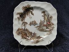 Johnson Brothers The Old Mill Square Salad Plate 7 3/4""