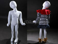 Child Fiberglass Abstract Mannequin Dress Form Display #MZ-TOM1