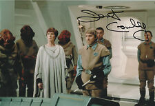 STAR WARS personally signed 12x8 - DERMOT CROWLEY as GENERAL MADINE