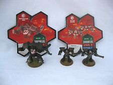 Heroscape Rise of the Valkyrie Deathwalker 9000 Zettian Guards w/2 Cards New