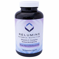3 Bottles Relumins Advance Vitamin C - MAX Skin Whitening Complex With Rose Hips