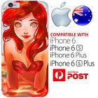 iPhone Silicone Case Little Mermaid Ariel Cute Hot Bright Cool FreshPrint AUS