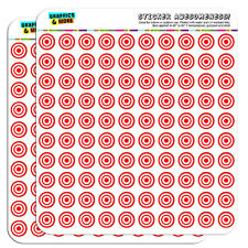 "Target Sniper Scope Bullseye 0.5"" Scrapbooking Crafting Stickers"