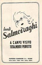 Y2297 Lenti Salmoiraghi - La Filotecnica - Pubblicità del 1942 - Old advertising
