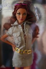 Gold Label Dolly Forever By Christian Louboutin Safari Dress Barbie Doll