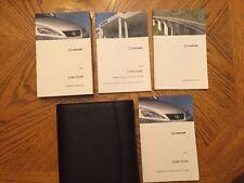 2012 Lexus IS350/IS250 Owner's Manuals Stock #010