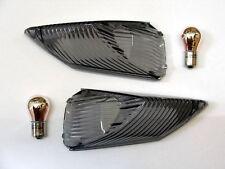 Negro intermitente trasero Cristales Suzuki GSX-R 750 L1/L2/L3/L4/L5,