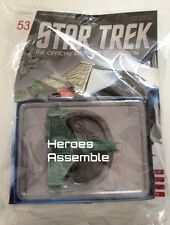 STAR TREK STARSHIPS COLLECTION #53 KLINGON ATTACK SHIP EAGLEMOSS (51 52 )