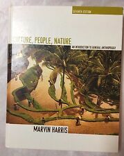 Culture People Nature An Introduction to General Anthropology Marvin Harris Hard