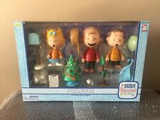 PEANUTS FIGURE COLLECTION A CHARLIE BROWN CHRISTMAS MEMORY LANE NEW IN BOX