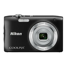 Nikon COOLPIX S2900 20.0 MP Digital Camera 5x Optical Zoom Black