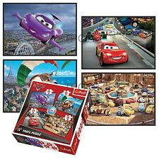 Trefl 4 In 1 35 + 48 + 54 + 70 Piece Jungen Kinder Disney Autos McQueen