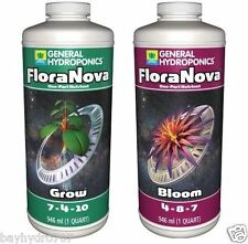 General Hydroponics FloraNova Series 32oz GROW & BLOOM Combos SAVE W/ BAY HYDRO