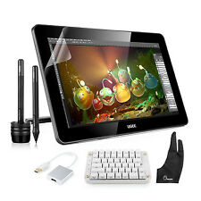 """Ugee HK1560 15.6"""" IPS Graphic Monitor 2048 Level+ Mechanical Keyboard+ Rich Gift"""