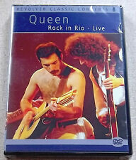 QUEEN Rock in Rio SEALED DVD Live SOUTH AFRICA Catalogue# REVDVD437 REGION 2