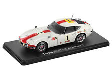 Miniature 1/24 - IXO Deluxe - TOYOTA 2000GT RACING 24H Fuji - ONLY ONE!! RARE !!