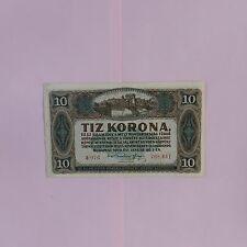 Hungary 10 Korona 1920, Pick # 60
