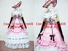 Black Butler Ciel Phantomhive Pink Lolita Dress Cosplay Costume (CH.07) Outfit