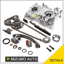 Fit 91-99 2.4L Nissan 240SX DOHC KA24DE 16V Oil Pump Timing Chain Kit