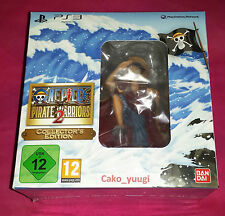 ONE PIECE PIRATE WARRIORS 2 COLLECTOR PS3 SOUS BLISTER ABIME VERSION FRANCAISE