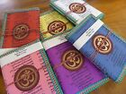 X1 100% Cotton Hand Made Large Note book With Om 40 pages 12x17