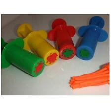 Pack of 5 Plastic Extruders Syringes Clay Dough Plasticine Modelling Toys T