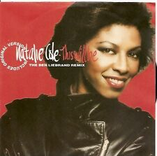 "7"" Natalie Cole This Will Be (Remix & Original) 90`s Capitol Records"