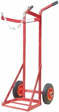 OXYGEN / ACETYLENE SINGLE CYLINDER TROLLEY HEAVY DUTY SOLID TYRE WG1271