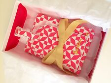 Boden Designer Pink Luggage Tag And Passport Cover Gift Boxed  Stocking Filler