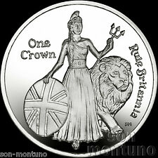 275th Anniversary Composition of Rule Britannia 2015 Ascension Island CuNi COIN