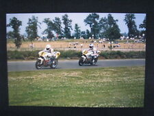 Photo Pepsi Suzuki RGV500 Gamma 1989 #8 Haslam / #34 Schwantz Dutch TT Assen