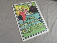 CONTES DE GRAND MERE ET HISTOIRES D AUJOURD HUI / genre EPINAL 1930