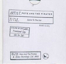 (EL256) Pete & The Pirates, Come To The Bar - 2011 DJ CD