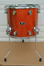 """PDP by DW X7 SERIES 16"""" FLOOR TOM in ORANGE SPARKLE for YOUR DRUM SET! LOT #V437"""