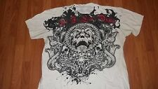 (2 SIDED) Metalcore AS I LAY DYING Christian Heavy Metal T-Shirt XL used